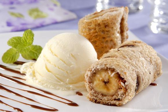 Sobremesa fácil: Tortinha de banana
