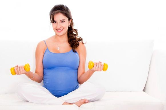 Mantenha a rotina de exercícios durante a gravidez