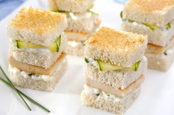 Sanduíche natural para o verão