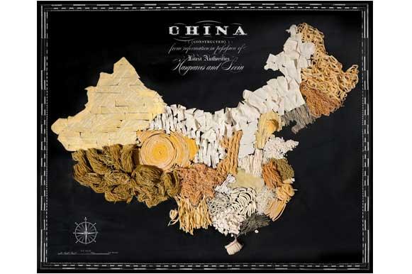 Food Maps: China